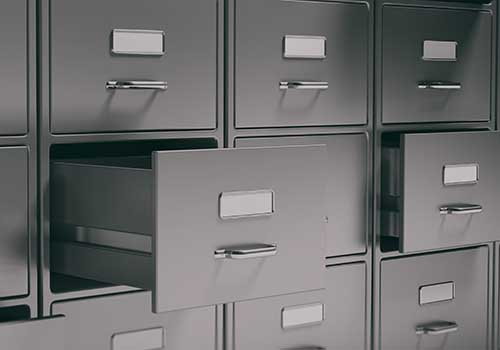 Filing Cabinets Records Sealing